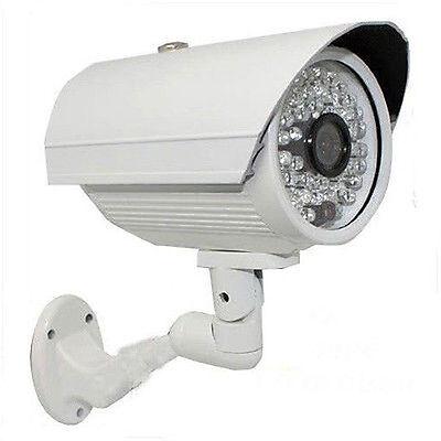 Cmos Cctv Security System (HD 1300TVL Sony CMOS Color CCD 3.6mm Lens 48IR CCTV 2 Security Camera System)