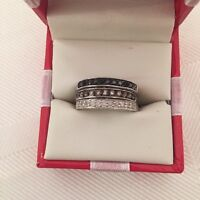 Sterling silver with Bridge Diamonds! Brand new!