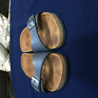 Birkenstock Size 36 Women's Blue Single Strap