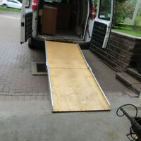 Large Truck/Van Ramp for Wheelchairs--Scooters--Lawnmowers Etc.