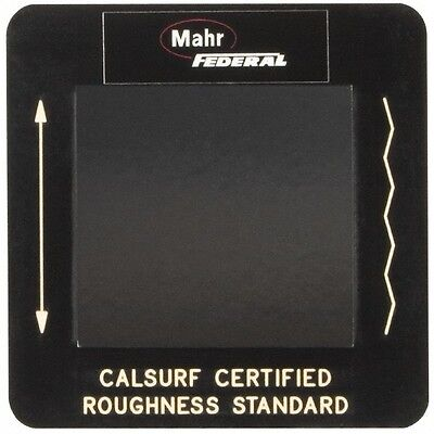 Mahr Federal Surface Roughness Gage Specimen For Use With Pocket Surf Portabl...
