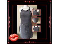 Atmosphere women's black white dress size uk 18