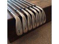 Ben Sayers M7 Golf Clubs with bag: Irons 5 to SW