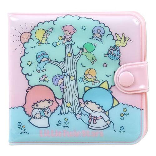 Little Twin Stars vinyl wallet kiki Lala kawaii Gift NEW Sanrio Retro ZJP