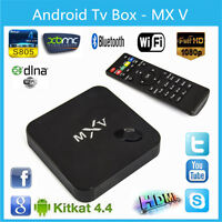 2015 MXV S805 4K 3D Quad Core Mali450MP Android TV Full Loaded