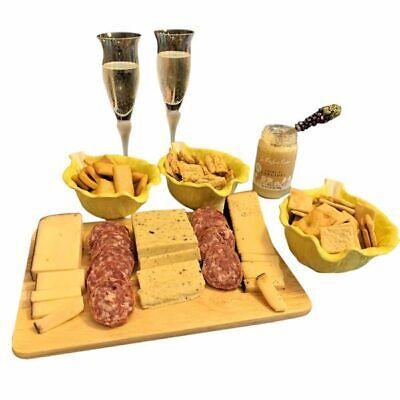 Italian Gourmet Meat Cheese Sampler - Gift Basket Crackers Cheese