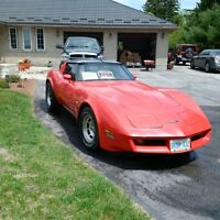 Little red Corvette with a huge surprise under the hood
