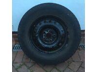 Mercedes Sprinter Wheel and Good Tyre