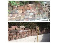 Reclaimed bricks (clean and free to pick up!)