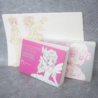 CARDCAPTOR SAKURA Animation Art Set CLAMP Art Works Book Model Sheet Ltd *