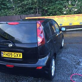 Nissan Note 2009 ,£3500