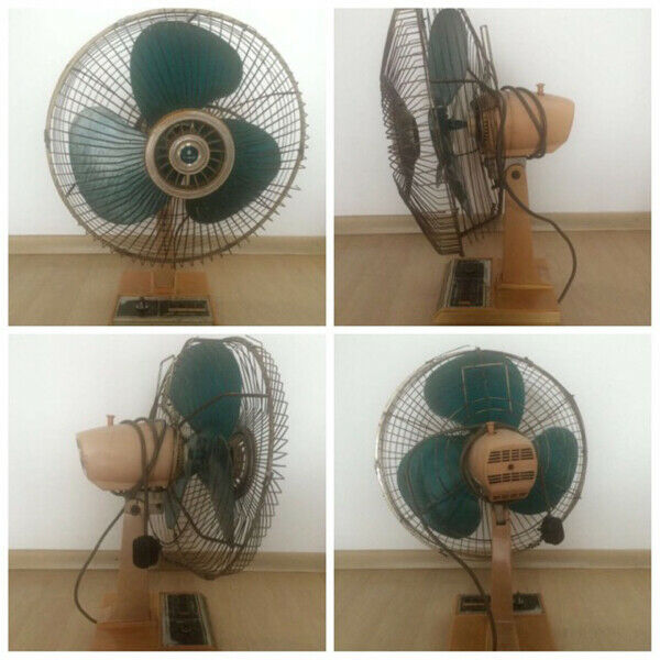 49 Years old Vintage Sanyo Table Fan