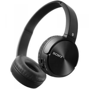 SONY BLUETOOTH HEADPHONES-MDR-ZX330BT
