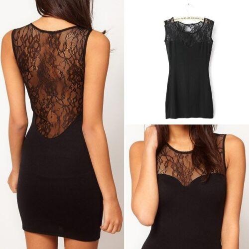 Women-Sexy-Lace-Sleeveless-Bodycon-Evening-Party-Cocktail-Mini-Dress-Clubwear