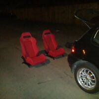 JDM Recaro Racing Seats