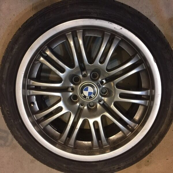 "18"" Inch OEM BMW E46 M3 Wheels Rims 2001 - 2005"