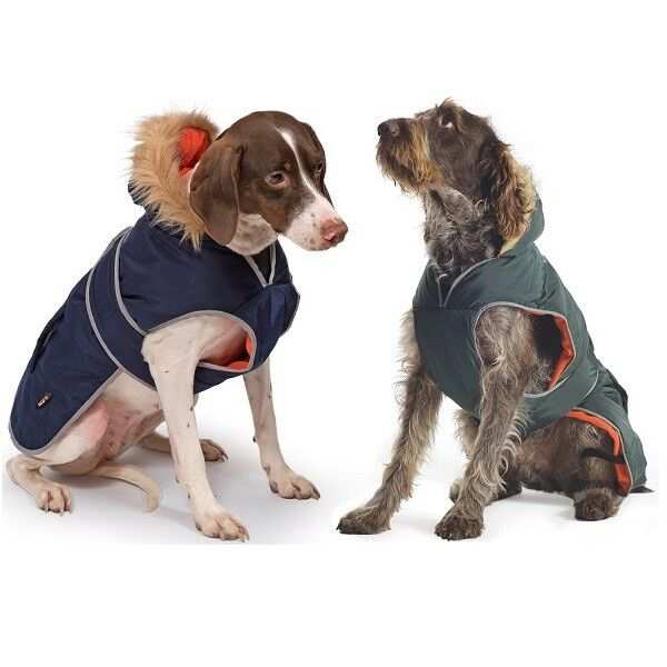 Ancol Muddy Paws Jacket Waterproof Warm Dog Coat All Weather Puppy Coats 35