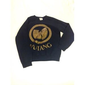 Black and gold Wutang sweater