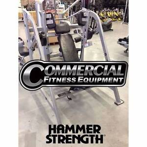 HAMMER STRENGTH PULLOVER - Used Commercial Fitness Equipments Heidelberg West Banyule Area Preview