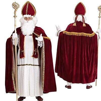 Sankt Nikolaus Heiliger  Bischof Weihnachtsmann Kostüm Weihnachten St. Martin