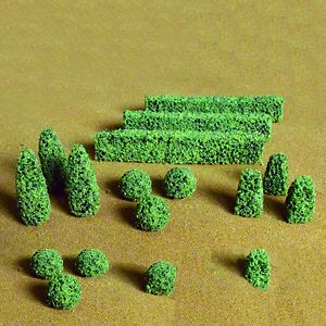 JTT Scenery Boxwood Plants O-Scale 1/2