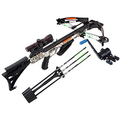 Carbon Express Crossbow X-Force Piledriver 390 Package with