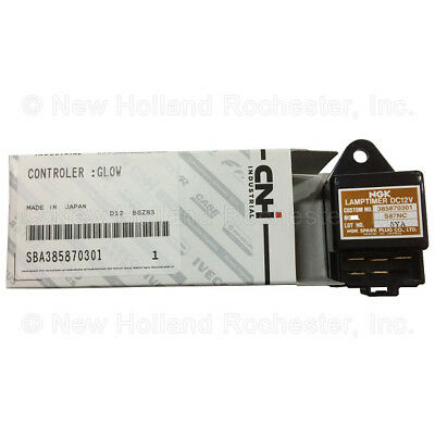 New Holland 12v Timer Relay Part Sba385870301 For Yard Compact Tractors