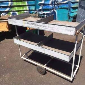 Practical Trolley with removable Shelves - Great for your Cafe Geelong Geelong City Preview