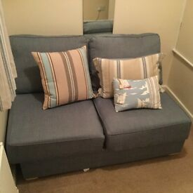 2 Seater armless sofa