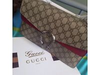Gucci women's cross body suede interior lovely bag
