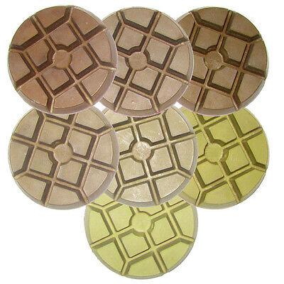 """3"""" Floor Polishing Disc for Granite – Full Set"""