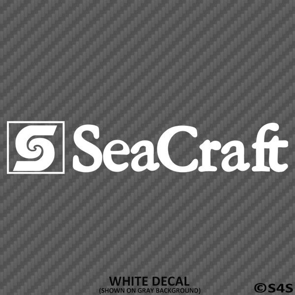 SeaCraft Fishing Boats Vinyl Decal Outdoors & Boating V2 - C
