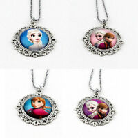 Disney Frozen & Belle from Beauty and the beast Necklaces!