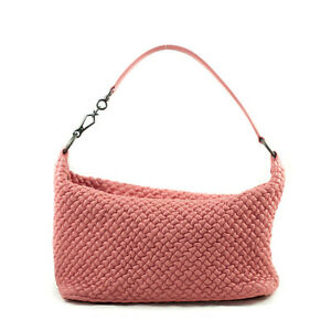 Authentic Bottega Veneta Quilted Bubble Small Leather Shoulder B