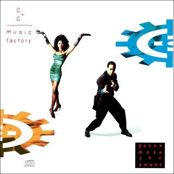 C+C MUSIC FACTORY : GONNA MAKE YOU SWEAT (CD) sealed
