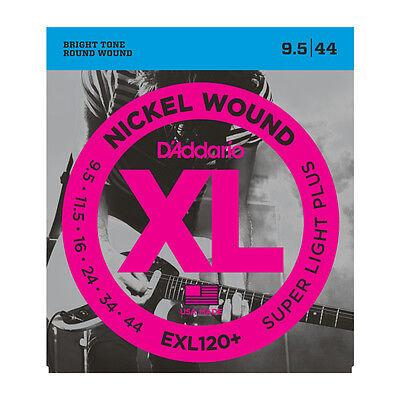 3 Sets D'Addario EXL120+ Super Light Plus Electric Guitar Strings Sets 9.5