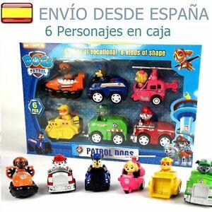 Patrulla Canina Lote 6 Coches 6 Figuras juguete regalo con...