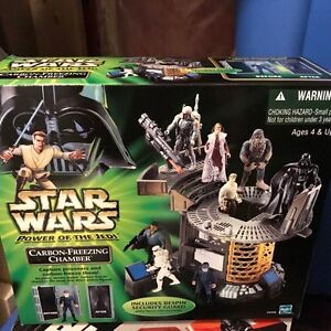 Star Wars carbon freezing chamber play set (rare)