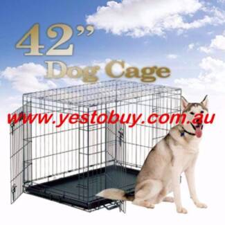 """42"""" Dog rabbit cat puppy cage pen crate house divider cover mat"""