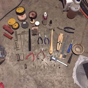 Silversmith tools jewelry making tools