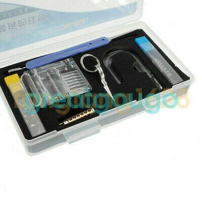 Transparent Visible Cutaway Practice Padlock Lock With Broken Key Accessories
