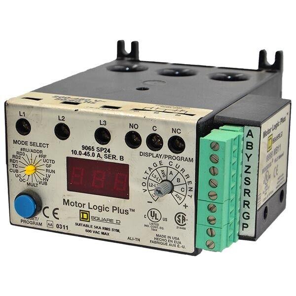 9065-SP24-B Square D 10-45A 600VAC Motor Logic Plus  -SA