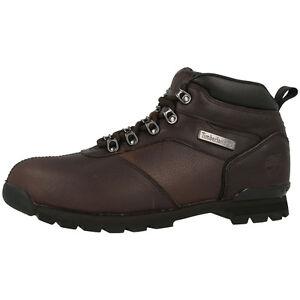 Timberland-Splitrock-2-Hiker-Botas-De-Hombre-Zapatos-Marron-a11wh-SPLIT-ROCK