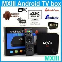 MX3 Quad Core Android Tv Boxes 2gb model with Xbmc/Kodi