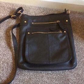 Black shoulder - across body bag