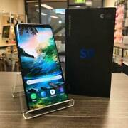 AS NEW SAMSUNG S9 256GB BLACK IN BOX AU MODEL UNLOCKED WARRANTY Pacific Pines Gold Coast City Preview