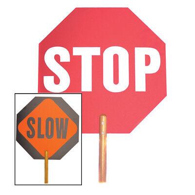 Mayday Stop Handheld Sign