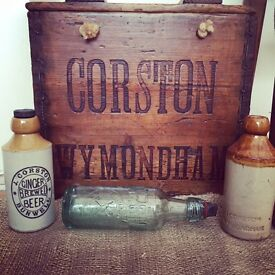 OLD STONE GINGER BEER / FLAGONS BOTTLES WANTED!