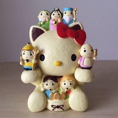 Hello Kitty Hucha Siete Suerte Dioses Lucky Cat Sanrio