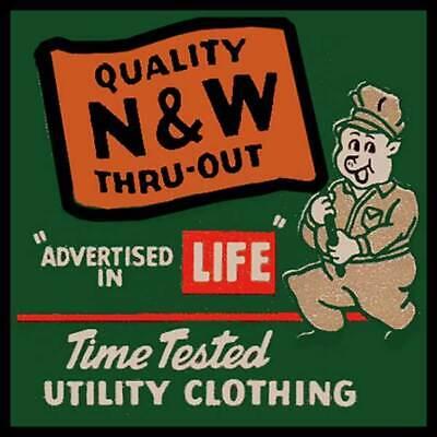 N&W Utility Clothing Lynchburg, Virginia Fridge Magnet